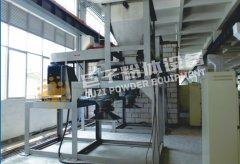 广州磁性材料铁硅铝粉碎分级系统